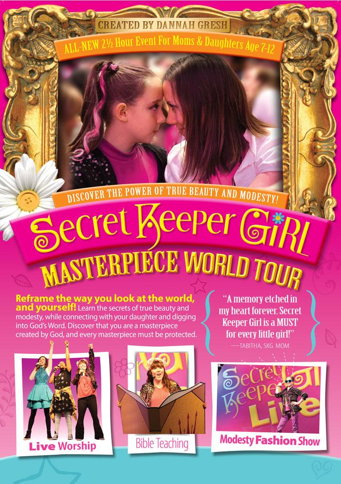 Secret Keeper Girl Tour